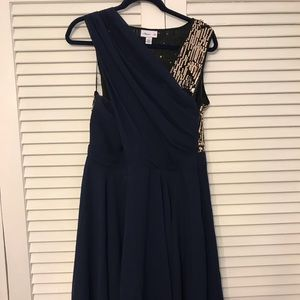 Phillip Lim for Target Navy Sequined Dress